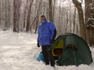 Returning To Cold Gap For The Big Snowstorms by Tipi Walter in Tent camping