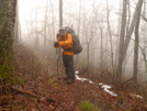 Climbing 2,000 Feet To The Top Of Flats Mt by Tipi Walter in Views in North Carolina & Tennessee