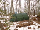 Keron 3 Tent Atop Flats Mountain by Tipi Walter in Tent camping