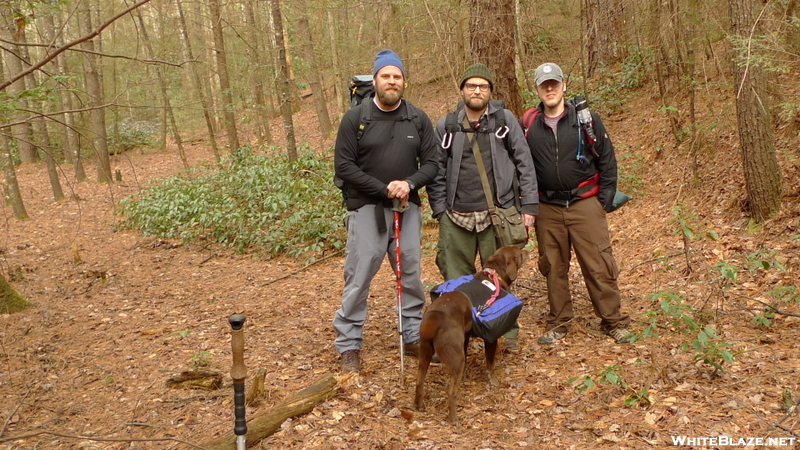 Three Chattanooga Backpackers