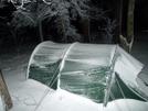 February Snowstorm Keron Tent