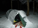 Keron Tent In The Snow