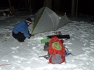 Three A.m. Arrival Into Cold Gap by Tipi Walter in Tent camping