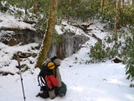 Coming Down The Frozen North Fork Citico by Tipi Walter in Views in North Carolina & Tennessee