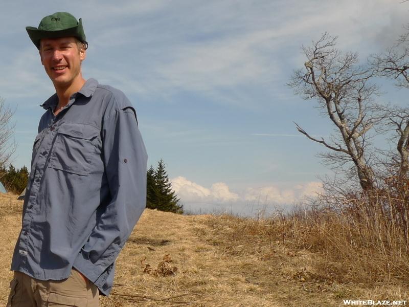 Backpacker Rob Atop Gorak Hill