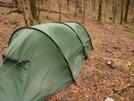 March Windstorm On The North Fork Citico by Tipi Walter in Tent camping