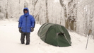 Snow Dumping Leads To A Zero Day by Tipi Walter in Tent camping