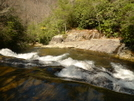 The Top Lip Of Wildcat Falls by Tipi Walter in Views in North Carolina & Tennessee