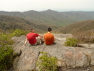 Table Rock View Below Hangover Mountain by Tipi Walter in Views in North Carolina & Tennessee