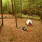 A Very Nice Camp On Jacks River Trail by Tipi Walter in Tent camping