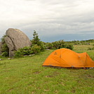 Stone Mt And Beartooth Rock by Tipi Walter in Tent camping
