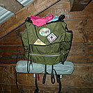 1970's Era Kelty Pack at Wise Shelter