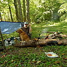Jebediah Hootyhoo Encamped at Cold Gap by Tipi Walter in Other People