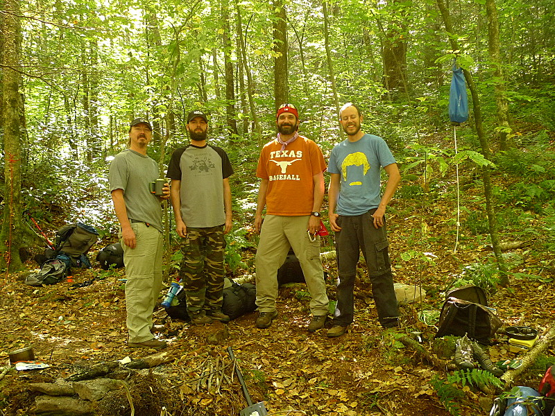 The Texas Boys on the North Fork Citico