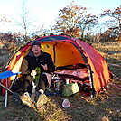 Larry and His Hilleberg Allak Tent on Gorak Hill by Tipi Walter in Tent camping