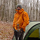 I Reach Cold Gap In A Butt Cold Wind by Tipi Walter in Tent camping