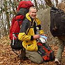 Rob Taking A Break On Haoe Peak