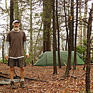 I Make It To Snow Camp On Day 13 by Tipi Walter in Tent camping