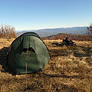 Hilleberg On Hangover Mountain On Day 16