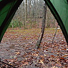 Day 20 In A Miserable Two Day Rain by Tipi Walter in Tent camping