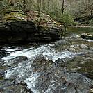 Ya Gotta Cross Wildcat Creek by Tipi Walter in Views in North Carolina & Tennessee