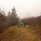 Camping On Hooper Bald