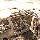 Burned Out Car At Beech Gap by Tipi Walter in Views in North Carolina & Tennessee