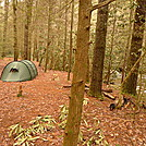 Bald River Campsite Near The Black Cave by Tipi Walter in Tent camping