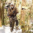 Taking The Big Stack Gap Trail Down To Slickrock Creek Near Wildcat Falls