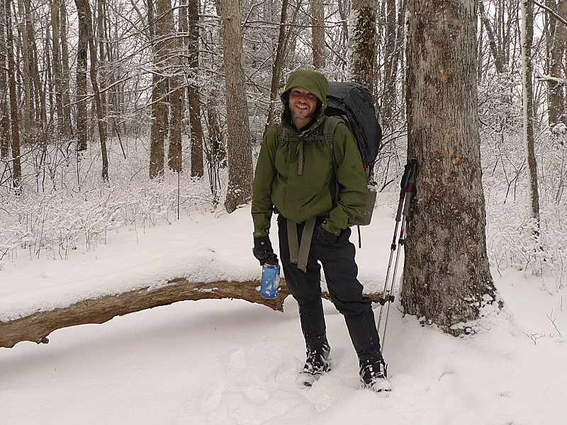 Backpacker Patman Joins Me At Crowder Camp In The Snow