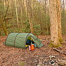 Hilleberg Keron Set Up On The Nichols Cove Trail Near The Twin Gravesite by Tipi Walter in Tent camping