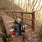 The New $27,000 Footbridge On The Slickrock Creek Trail Near Calderwood Lake