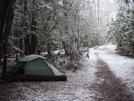 The Snow Starts/brookshire/mar08 by Tipi Walter in Tent camping