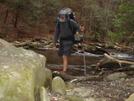 Crossing The North Fork Citico/april '08