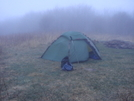 Foggy And Windy On The Bob by Tipi Walter in Tent camping