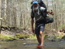 Crossing Slickrock Creek/trip 76