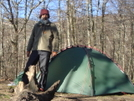 Late April Cold Snap by Tipi Walter in Tent camping