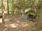 August '08 Brookshire Campsite by Tipi Walter in Tent camping