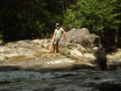 Sitting At Buffalo Rock On Slickrock Creek by Tipi Walter in Views in North Carolina & Tennessee