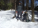 On Fodderstack Ridge In The Snow/feb'09 by Tipi Walter in Views in North Carolina & Tennessee