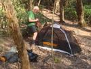 """Bill """"dugas"""" At Brookshire Creek Camp/apr'09"""