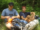 Eric And Bo--ipod Backpackers by Tipi Walter in Other People