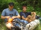 Eric And Bo--ipod Backpackers