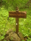 Sycamore Creek Trailpost by Tipi Walter in Views in North Carolina & Tennessee