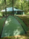 Cabin Vs Tent?  Always Pick The Tent by Tipi Walter in Tent camping