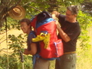 Hill Craddock Helping With Paola's Pack by Tipi Walter in Other People