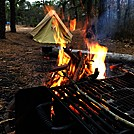 Mullica River Wilderness Camp by Empty Nest in Day Hikers