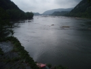 Potomac River at Harpers Ferry, mile 1009
