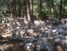 Rock piles near White Rocks Mtn., mile 1659