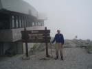 Early Bird at Mt. Washington visitors center, mile 1841